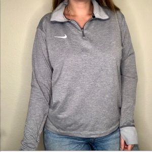 Nike Therma Sphere Dri-Fit Zip Pullover Sweater